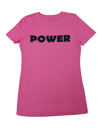 Junior Women's T-Shirt - Vintage Pink