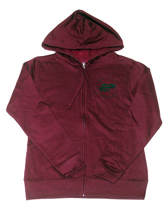 Women's Hoodie - Light Blackberry