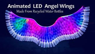 Animated LED Angel Wings