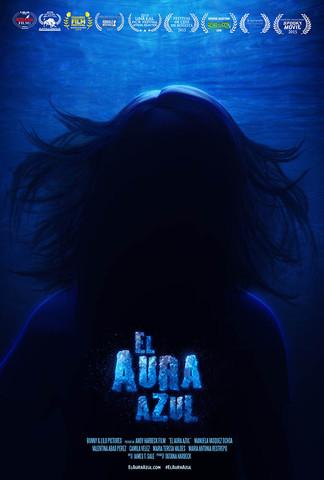 El Aura Azul Poster
