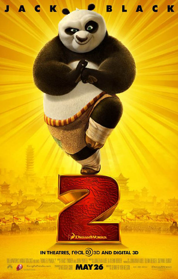 DreamWorks Kung Fu Pand Movie Poster Po