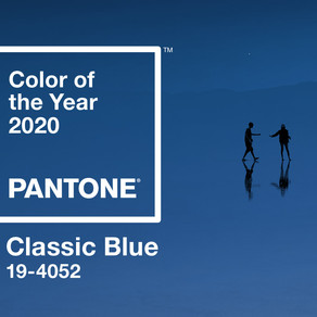 PANTONE COLOR Of The YEAR 2020 : CLASSIC BLUE