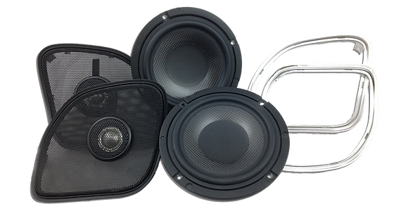 "WBC 1654 RG Road Glide  6.5"" Replacement Front Speakers"
