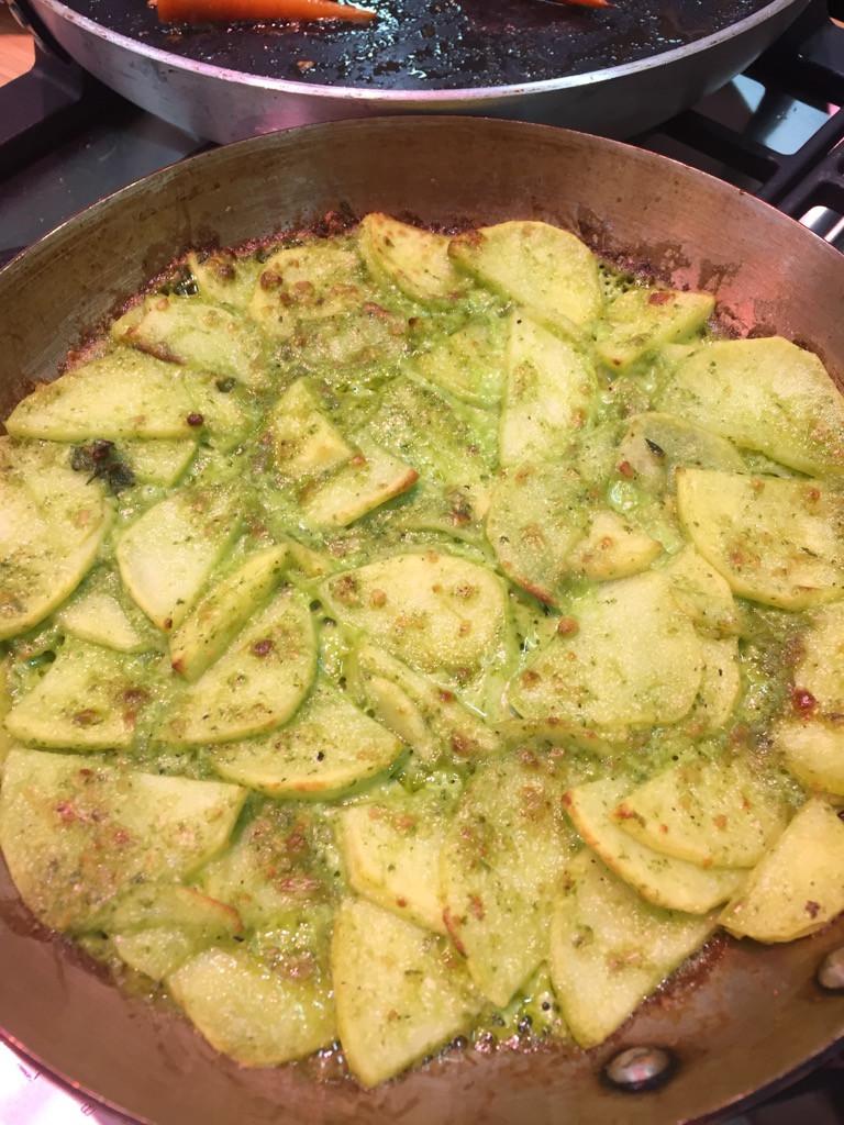 speedy potato gratin