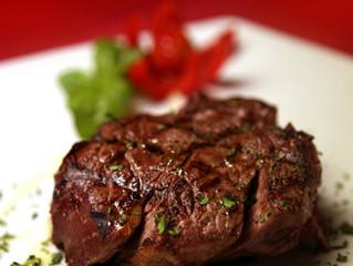 Pan Fried Fillet Steak With Wasabi Dip