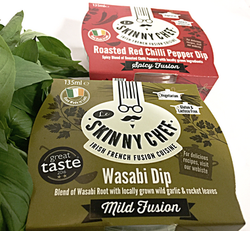 Wasabi & Red Chilli Pepper  Dips