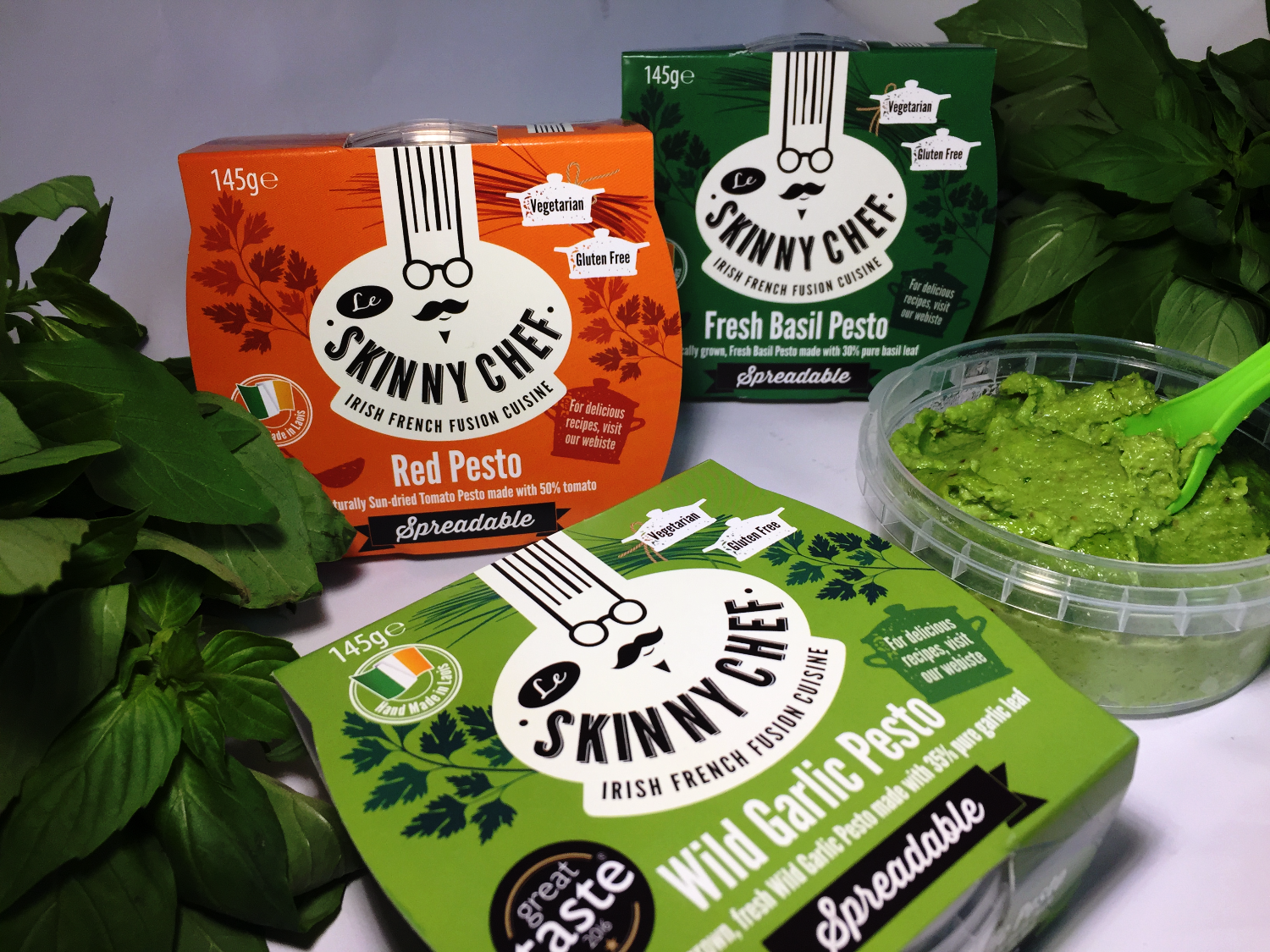 Spreadable Pesto