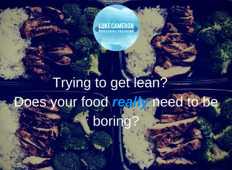 How to get lean AND enjoy food!