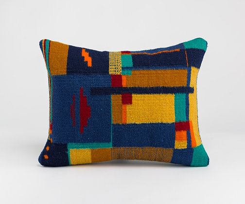 "Handwoven Pillowcase ""Bauhaus-Collection 17"""