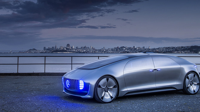 AUTONOMES FAHREN: Der Mercedes-Benz F 015 Luxury in Motion