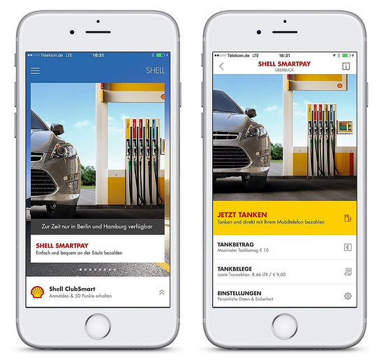 """Tanken und abhauen - """"Shell Smartpay"""" macht's möglich!"""
