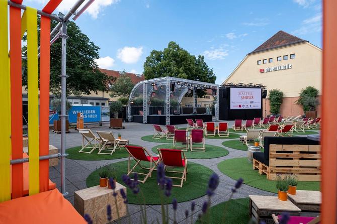 Open-Air-Kino im Römerkastell