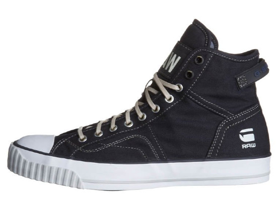 G-Star CAMPUS RAW SCOTT III - Sneaker high - navy
