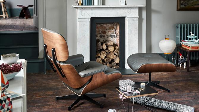 """Weihnachtsidee 2016: Designklassiker """"Eames Lounge Chair"""" von Vitra"""