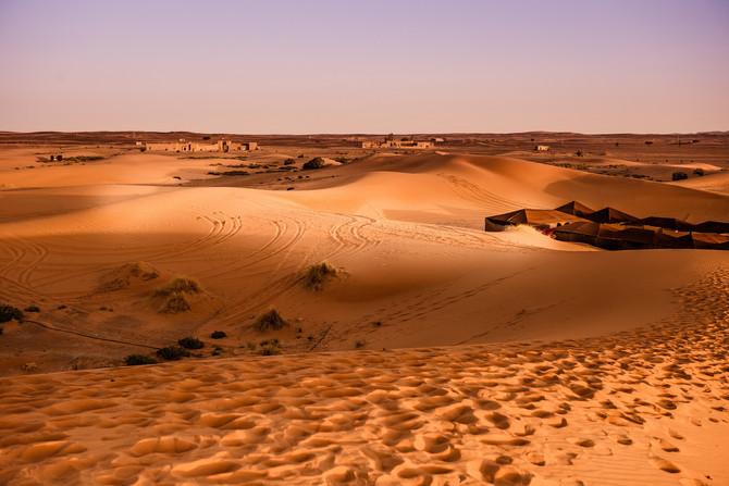 Wüstentrip für Kaltduscher: Trekking durch Marokko
