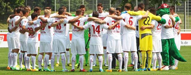 Der VFB Stuttgart hautnah bei Breuninger