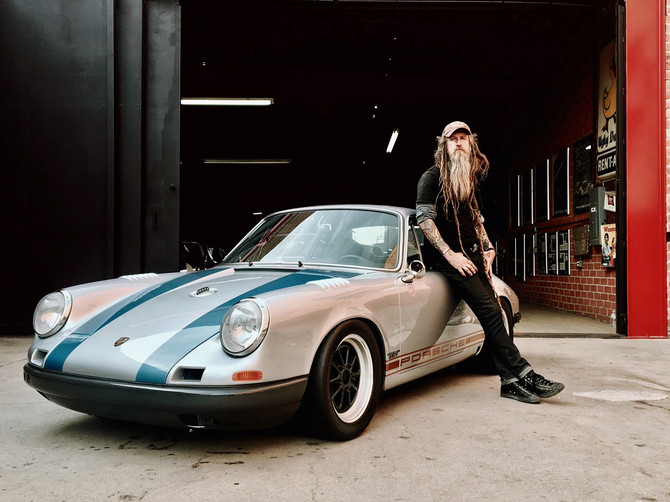 Porsche-Guru Magnus Walker zum Meet and Greet im Automuseum PROTOTYP