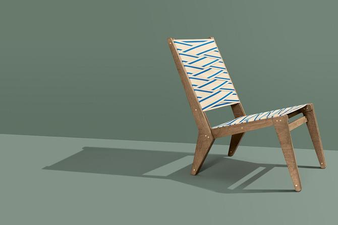 Ein Designerstuhl zum Selberbauen: Der Lounge Chair von Sigurd Larsen