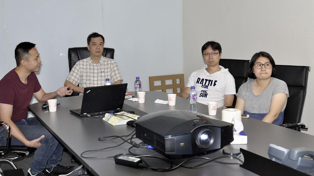 蔡偉新先生(Sunny Choi)與學員交流分享