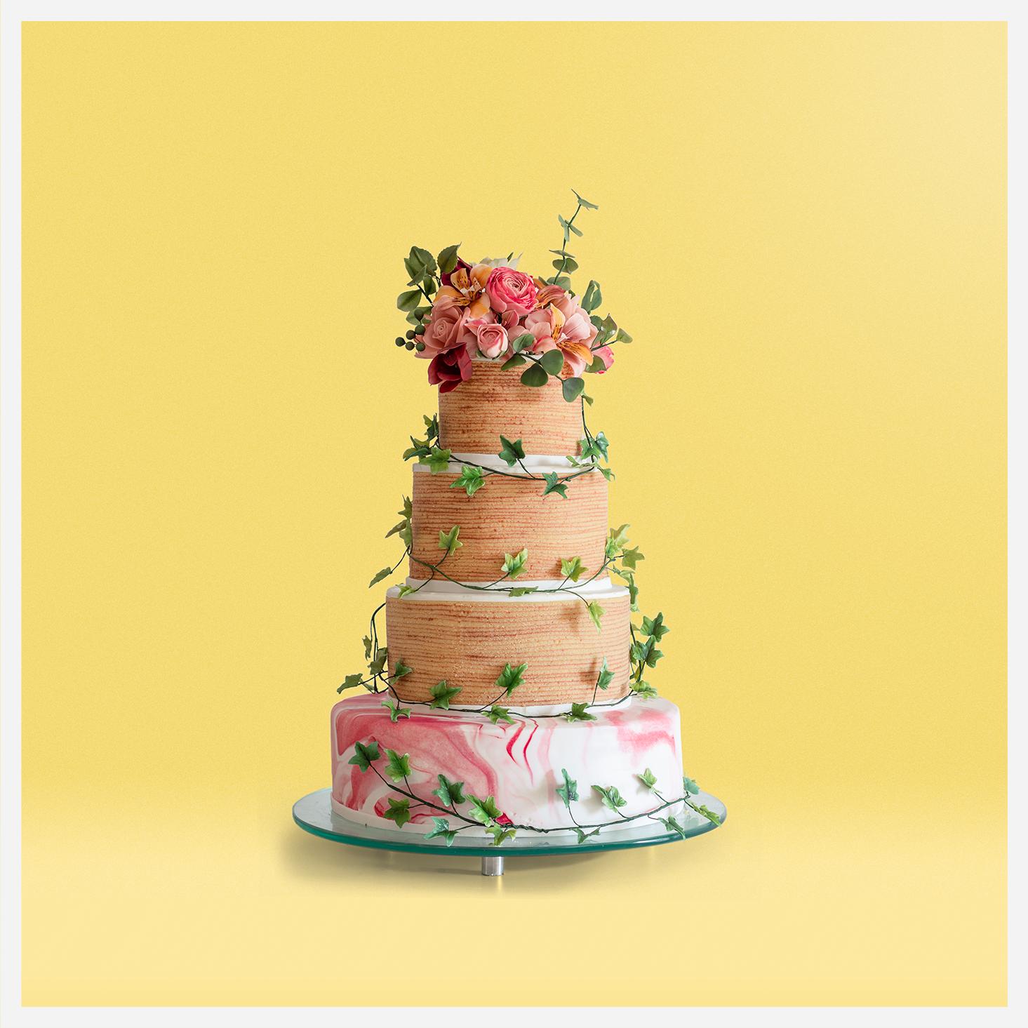 Naked Cake (Bolo de Casamento)