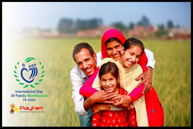 PayNet celebrates the International Day of Family Remittances
