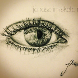 """""""It is not length of life, but #depth of #life_ #quote #emerson__#eye _#pencil and #ink on #paper •_"""