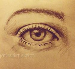 quick #eye sketch ✏️ #sketch#sketchbook#eyes#pencil#pencildrawing#pencilwork#look#quicksketch#dailys