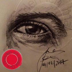 sketching your eye _soenkemeinen 😉 •_•_•_#art #eye #illustration #drawing #draw #picture #artist #s