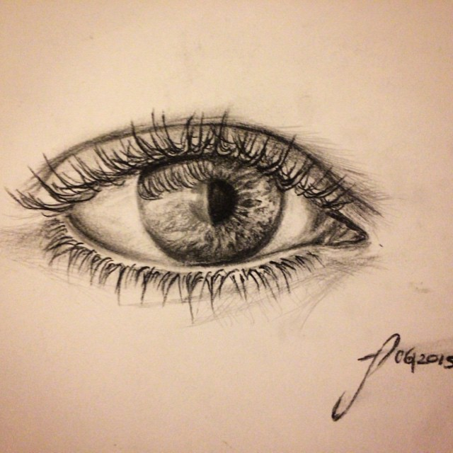 #eyes #charcoal#pencildraw #sketch #sketchbook #drawing #janoum