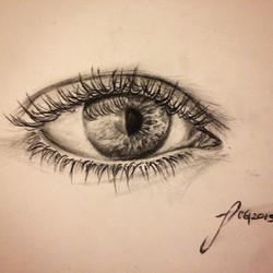 #eyes #charcoal#pencildraw #sketch #sketchbook #drawing #janoum