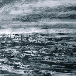 _there'll be oats in the water_ - it's time again for some water-paintings #onthewaybackhome mixed m
