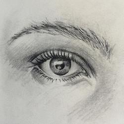 #sketching #eyes_#sketch#sketchbook#pencil#auge#janoum