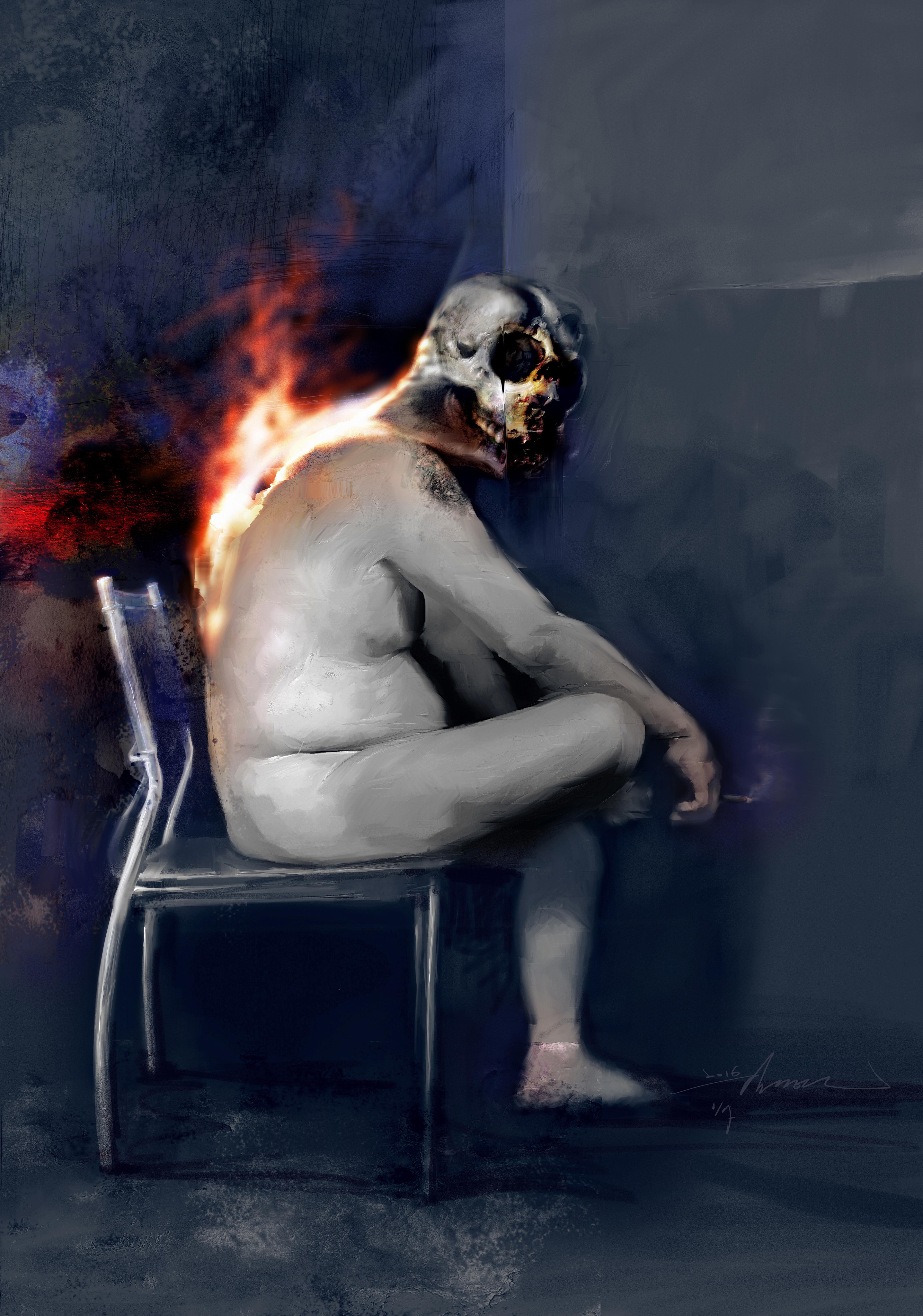 skullman. Dong Yeoun Kim