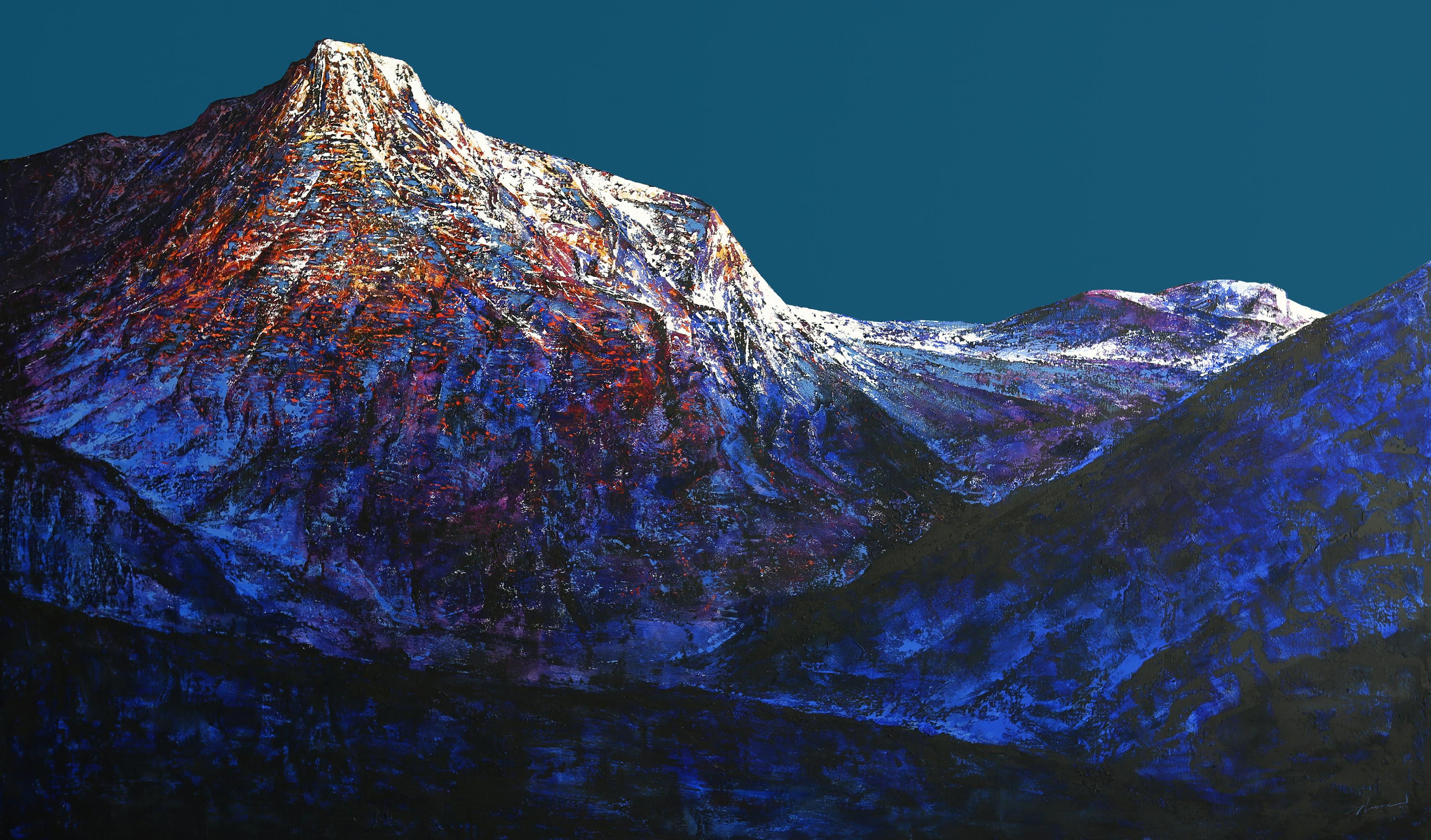 Mountain of  Silence. Dong Yeoun kim