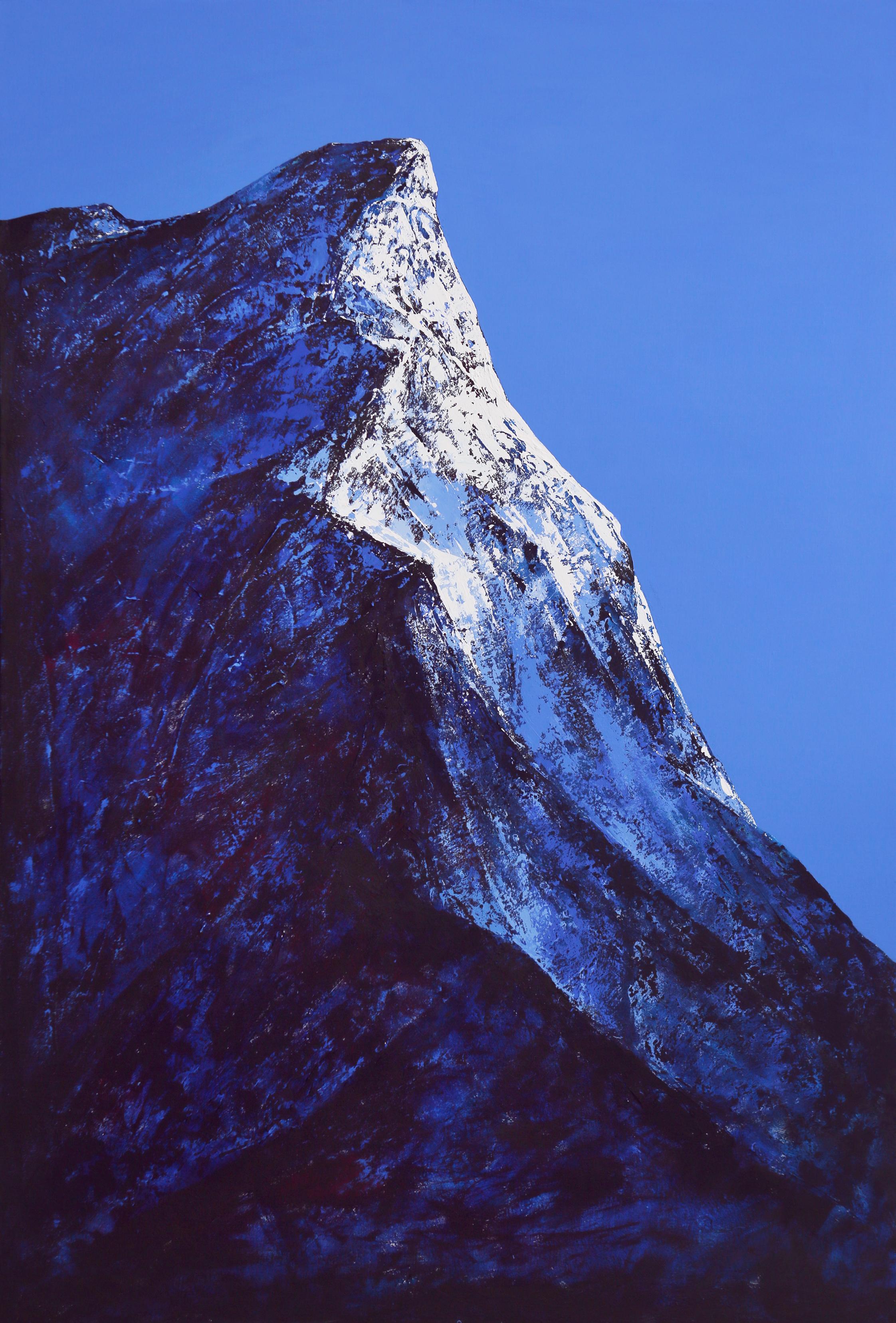 Snowy  mountain Ⅰ. Dong Yeoun Kim
