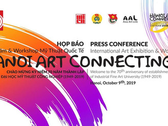 The international exhibition and workshop Hanoi Art Connecting 2019