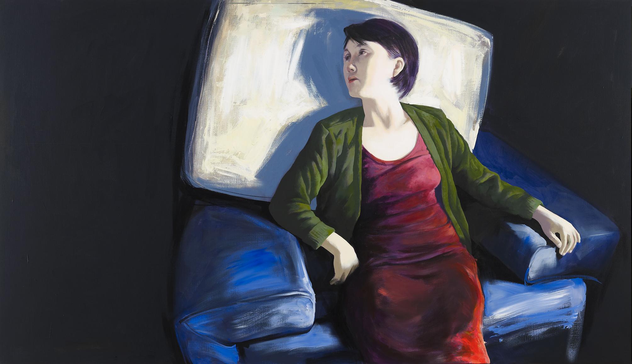 The wall- She's Gone. Dong Yeoun Kim