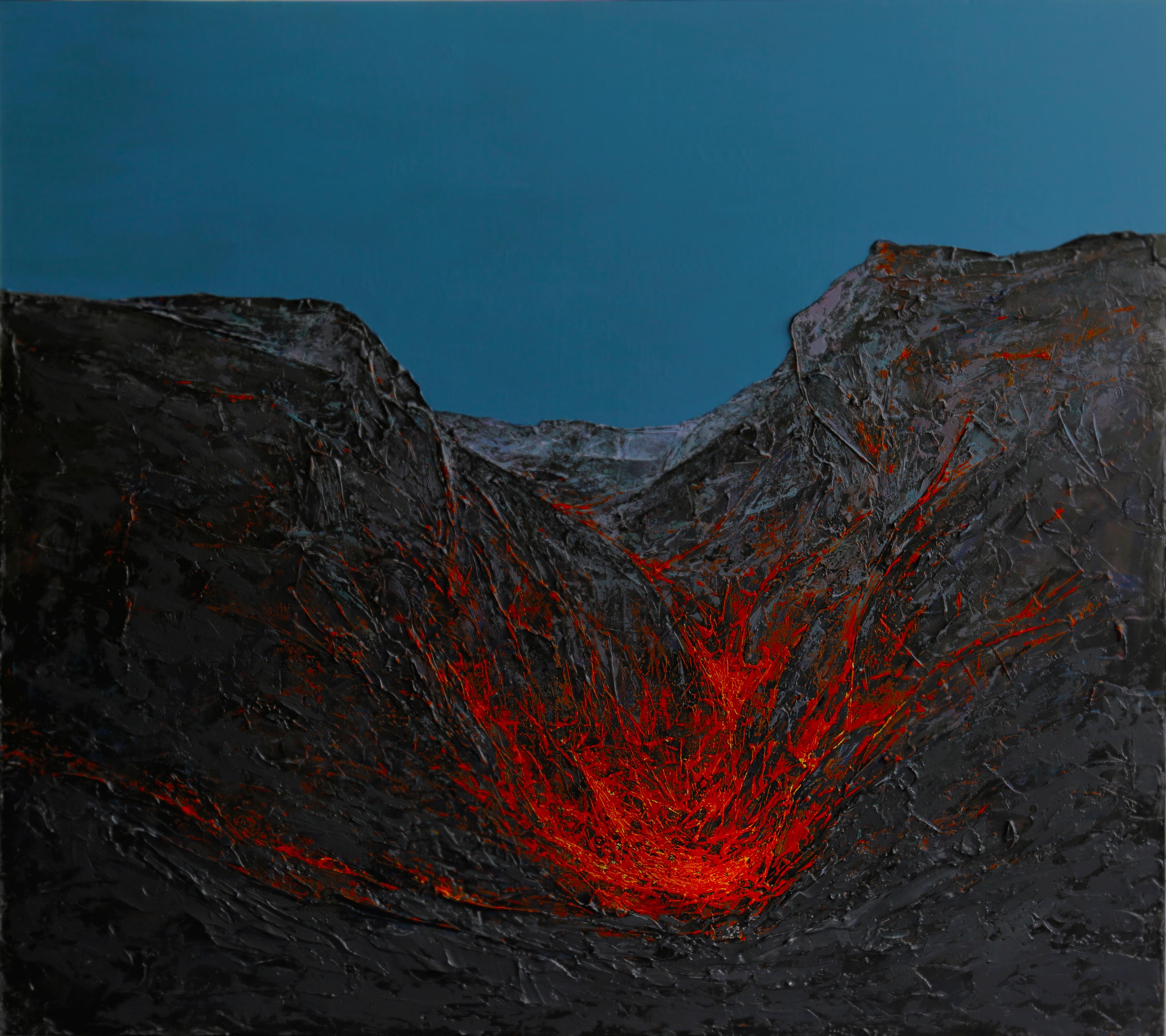 Volcano. Dong Yeoun Kim