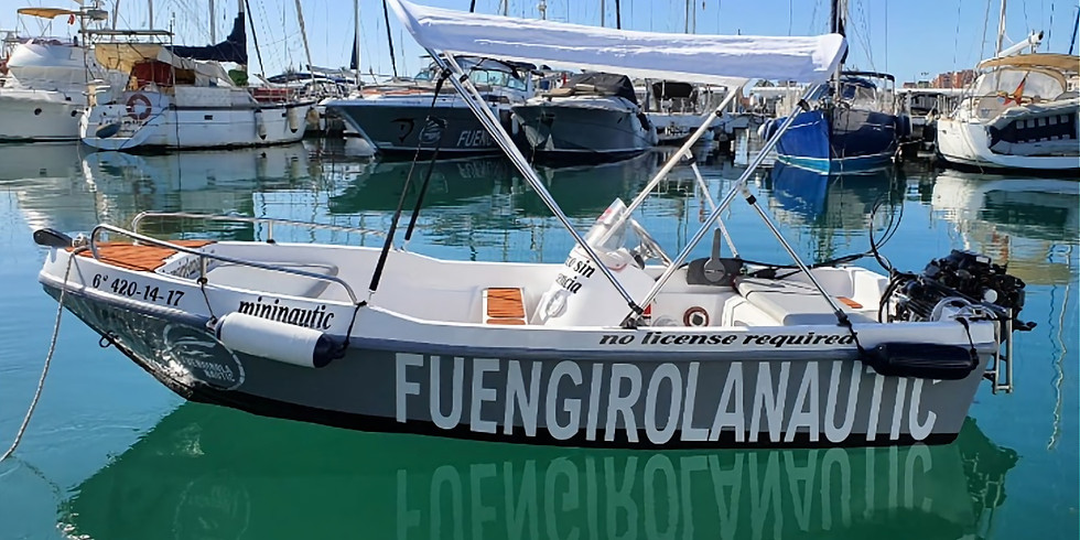 Boat Rental 5m (No licence required)