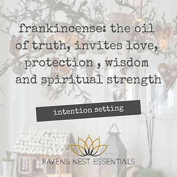 Intention Setting frankincense_ the oil