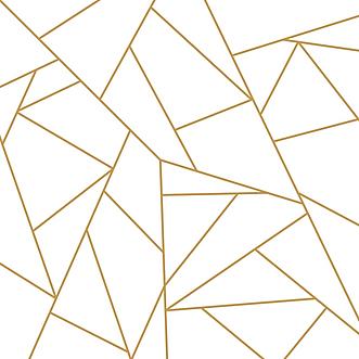 geometric-gold-hexagon-pattern-comforter