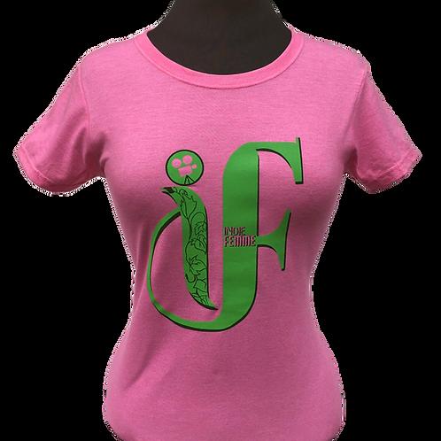 Pink & Green Ivy