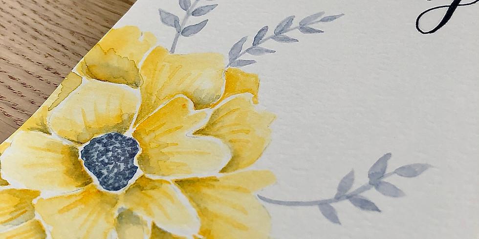 Handlettering (fortgeschritten) - Brushpens & Watercoloring
