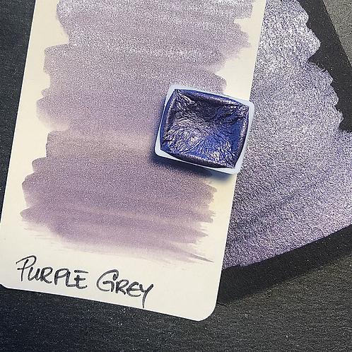 Watercolor – Purple Grey