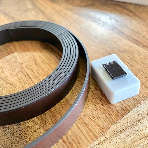 Magnetband, 1.25 x 10 cm