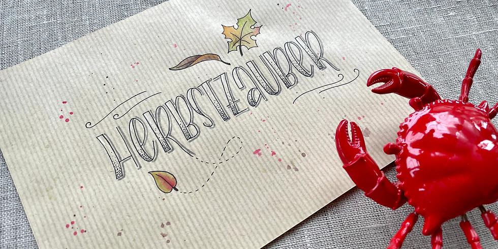 "Handlettering ""Herbst"" (für Fortgeschrittene)"