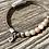 Thumbnail: Armband Leder und zartrosa Achat