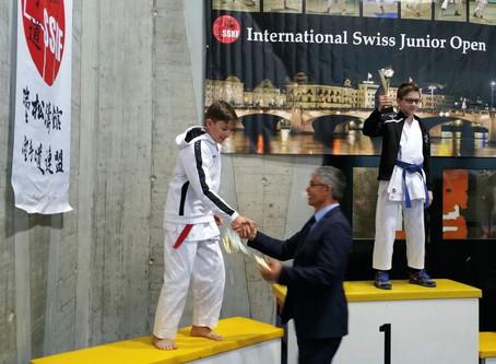 Karate-Silber an den International Swiss Junior Open 2018