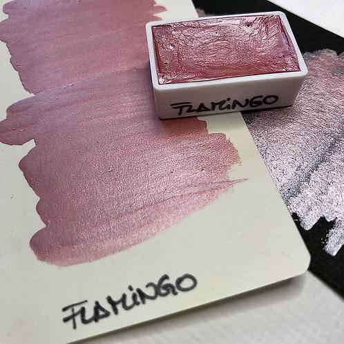 Watercolor – Flamingo