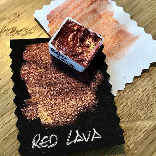 Watercolor – Red Lava